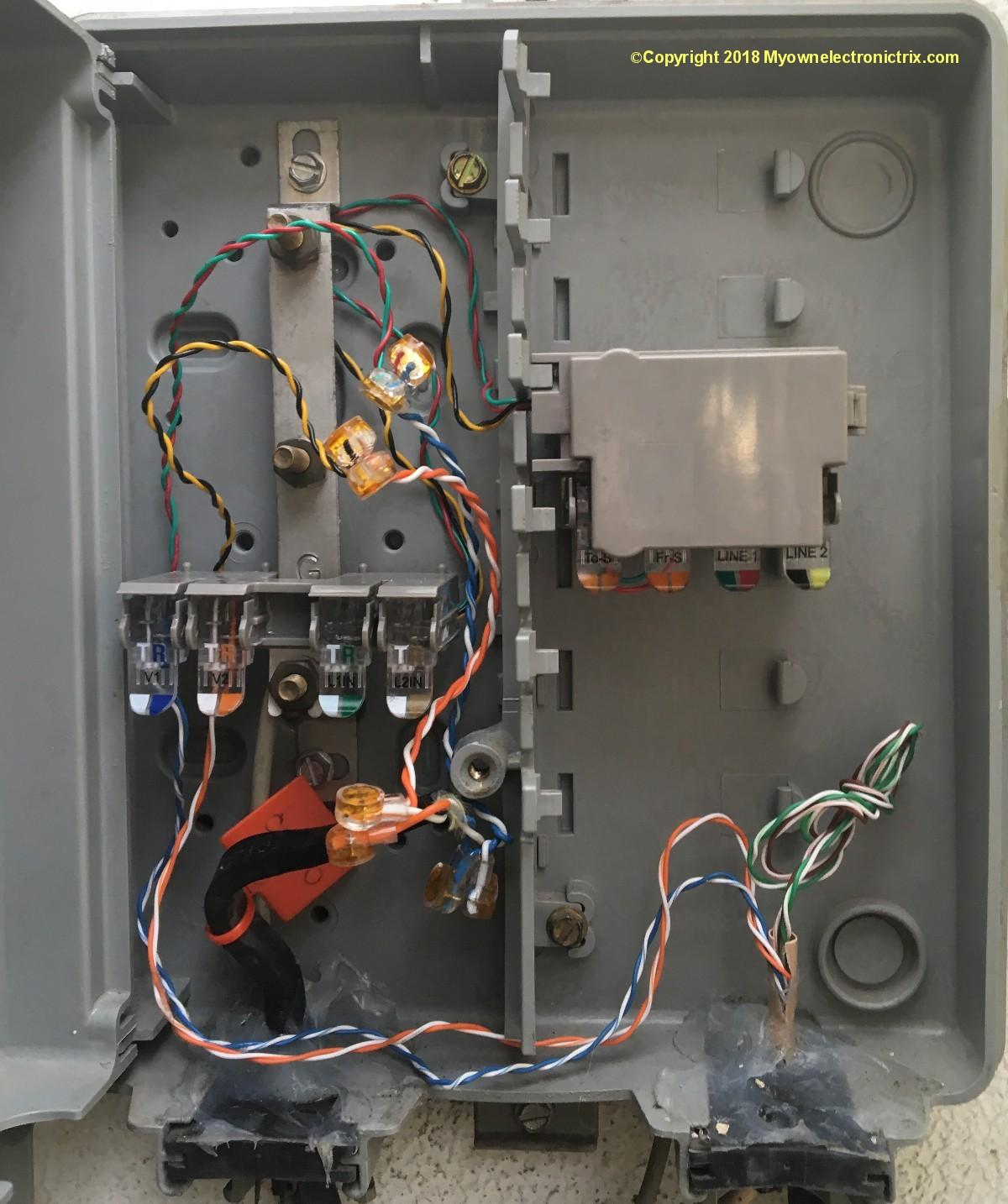Likewise Verizon Work Interface Device Wiring On Usoc Wiring Order